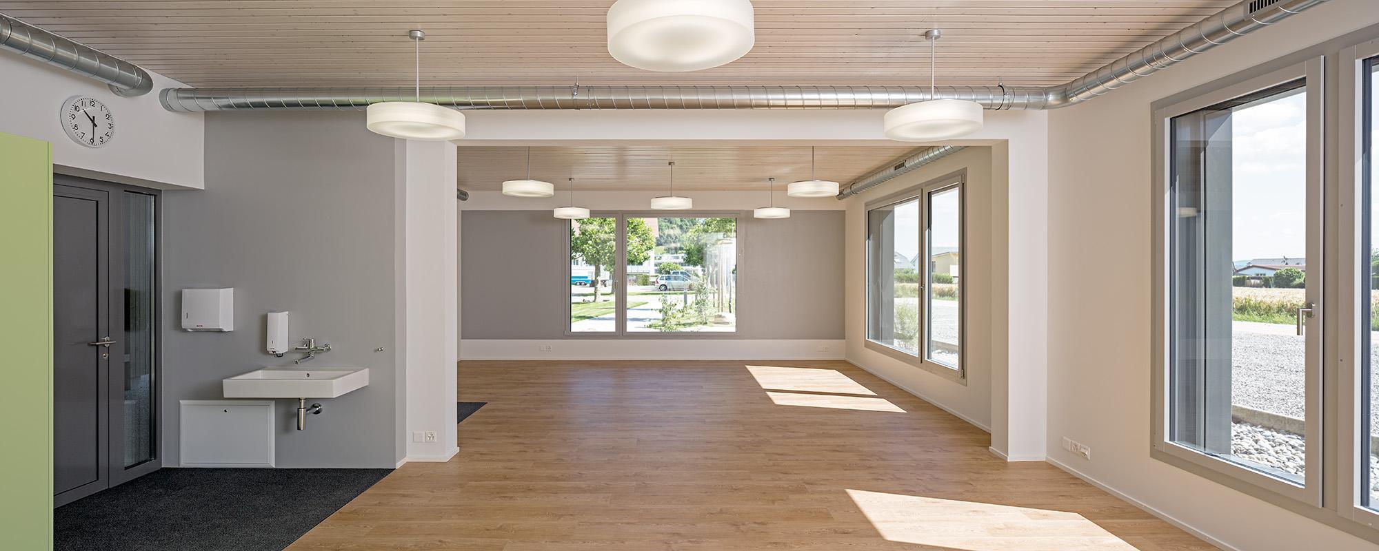Innenausbau Neubau/Erweiterung Schulanlage, Brunegg