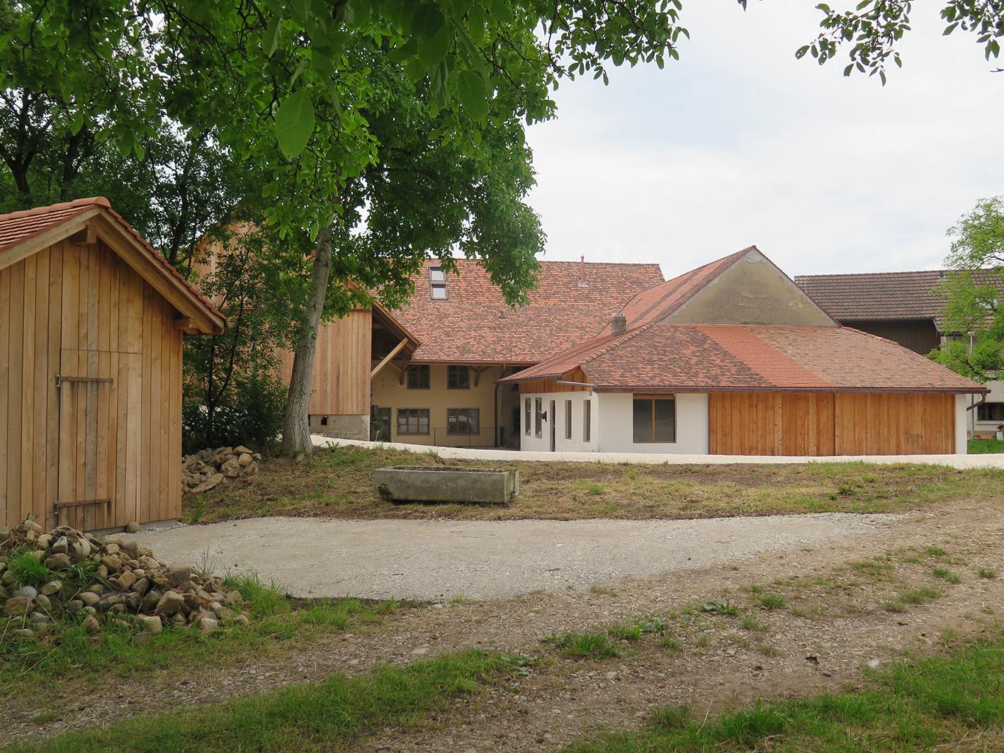 Aussenansicht Umbau und Renovation «Hof Gallenkirch», Bözberg