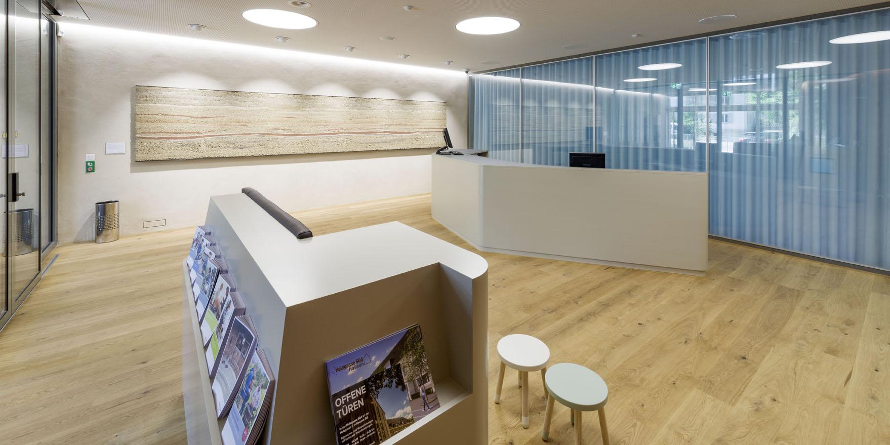 Innenausbau Umbau Raiffeisenbank Wasserschloss, Windisch