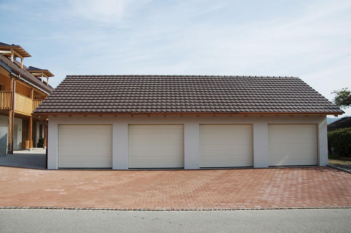 Garagen zu Umbau Bauernhaus, Windisch