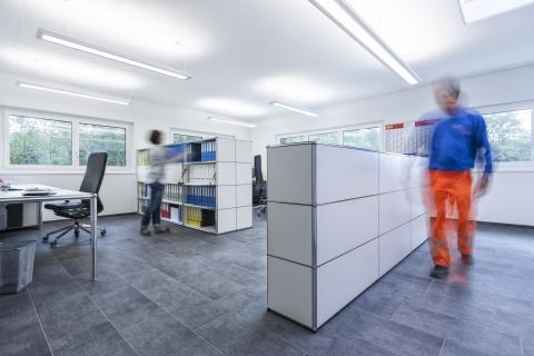 Büroräumlichkeiten der Valetti Bauunternehmung AG
