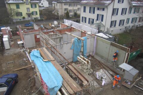 Neubau Mehrfamilienhaus an der Fröhlichstrasse, Brugg