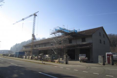Ausbau Fundlager Archäologie Kanton Aargau (DFR) in Windisch